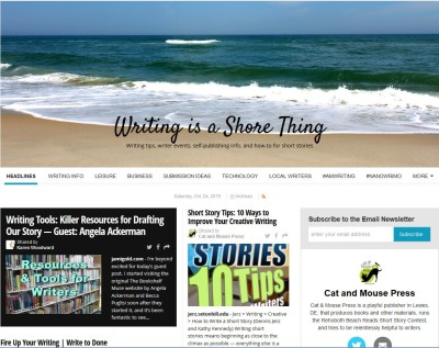 Online Newspaper with Writing Tips
