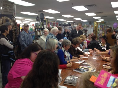"""book signing for """"Beach Days"""""""