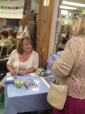 Lynnette Adair at Sea Sprite Inn Launch