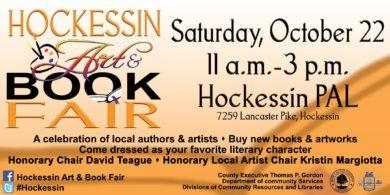 Hockessin Art & Book Fair October 22