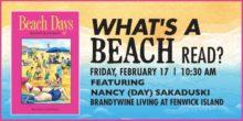 What's a Beach Read? February 17, Brandywine Senior Living